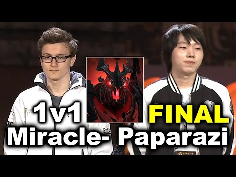 Miracle vs Paparazi - 1v1 SF MID - GRAND FINAL - DAC 2017 DOTA 2
