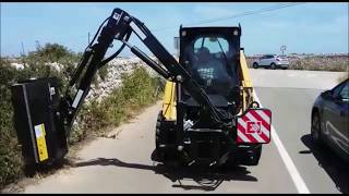 Video Boom mower 10DL1000C