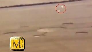 Graban En Video Esferas OVNIS Haciendo Crop Circles - Canal Del Misterio