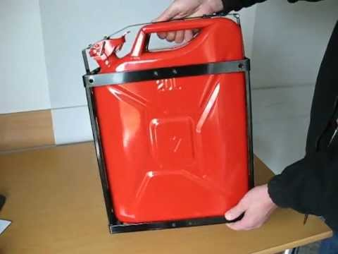 Jerry Can Holder Closing Youtube