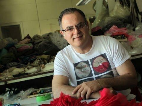 Alberto Rodríguez, diseñador de alta costura