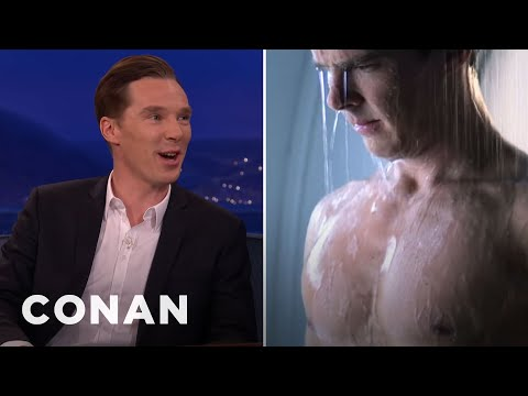 "Benedict Cumberbatch On His Steamy Cut ""Star Trek"" Scene"