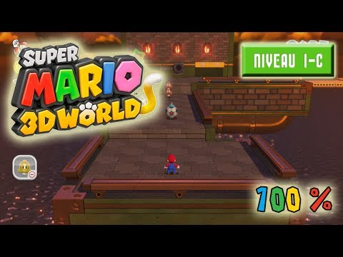 Super Mario 3D World à 100% : Niveau 1-C
