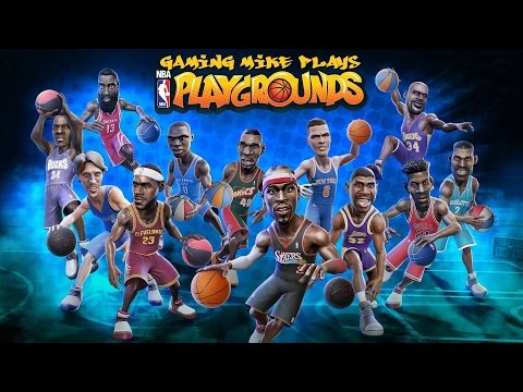 First Play - NBA Playgrounds (Gameplay Broadcast with Friends) | [ps4 720p60]