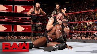 Download Lagu Reigns, Strowman & Lashley vs. Mahal, Owens & Zayn: Raw, April 30, 2018 Gratis STAFABAND