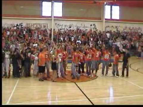 Honey Grove High School Homecoming Pep Rally: Alma Mater & Fight Song