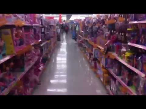 Haunted toy aisle.  Cutest ghost in Walmart.  OMG  Baby Alive