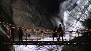 大子町 四季の動画 氷瀑