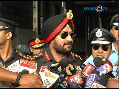 Indian Army chief Bikram Singh Speaks at Air Force Academy Dundigal