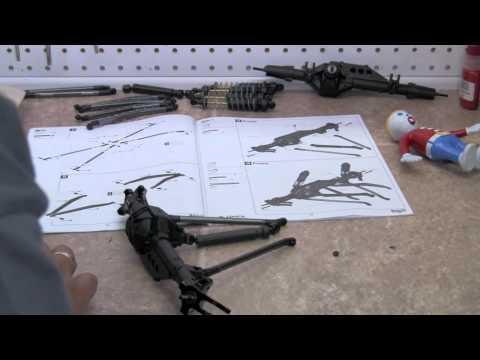 Axial Wraith Kit Build Video 10