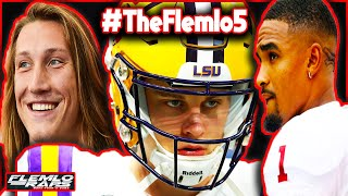 Joe Burrow DOMINATES! Jalen Hurts Draft Stock Down? Justin Fields vs Trevor Lawrence! (CFB Playoff)