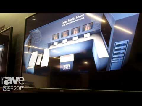 ISE 2017: 7thSense Shows Off Closed Captioning Manager