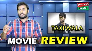 Taxiwaala Movie Review And Rating By Film EXPERTS | Taxiwala Movie Publi Talk | Taxiwala Movie Talk
