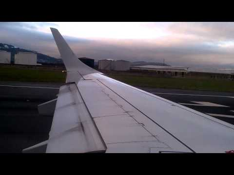 Flybe E195 Departing Belfast City Airport Runway 22