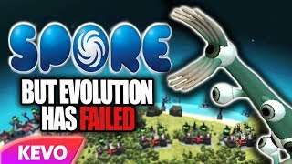 Spore but evolution has failed