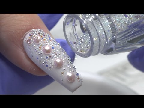 Swarovski Pixie Crystals Nails
