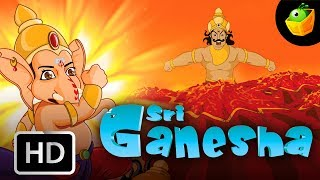Ganesha Full Stories In English (HD) - Compilation of Cartoon/Animated Stories For Kids