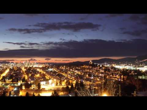Time Lapse Test #1 Vancouver Sunset and Night Sky Sony RX100 V