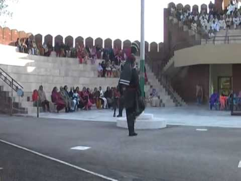 INDIA V S PAKISTAN  PARADE COMPETITION AT HUSANIWALA BORDER, FEROZPUR, PUNJAB)