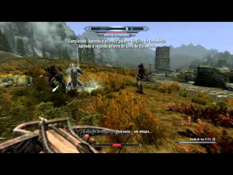 Skyrim Invocar Durnehviir in Tamriel [shout]
