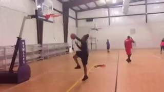 15 year old girl dunks