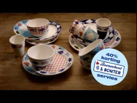 Boerenbont & Bonter Servies Unox TV Commercial