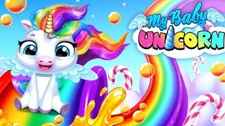 My Baby Unicorn - Fun Virtual Pony Pet Care, Dress Up & Makeover Games for Kids