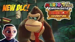 Donkey Kong Adventure is coming to Mario Rabbids Kingdom Battle! - DLC Gameplay - Ubisoft E3 2018