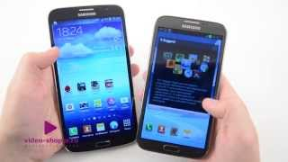 Битва Samsung Galaxy Note II vs Samsung Galaxy Mega