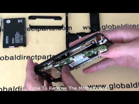 Motorola Droid X Take Apart Video   Tear Down
