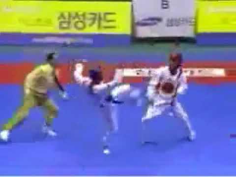 espectacular demostracion de tae kwon do