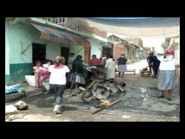 Pueblo indigina se levanta contra  La Familia Michoacana