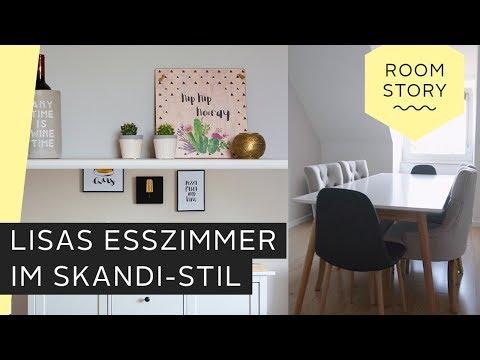 Wohnen mit Katzen: Lisas Esszimmer im Skandi-Stil | Roombeez – powered by OTTO