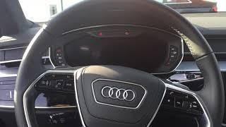 2019 Audi A8 Cold start