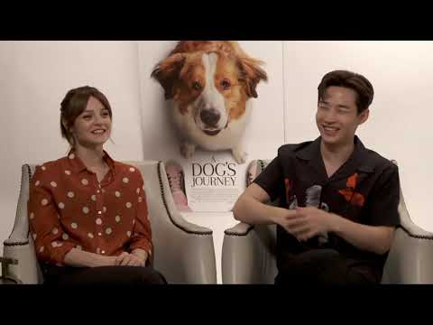 A Dog's Journey || Kathryn Prescott & Henry Lau Generic Junket Interview || #SocialNews.XYZ