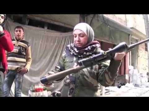 Meet 'Guevara,' FSA's Palestinian-Syrian Woman Sniper