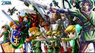 The Legend of Zelda All Title Themes (1987-2013)