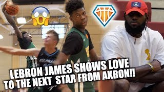 LeBron James SHOWS LOVE TO THE NEXT STAR FROM AKRON!! | 2022 Chris Livingston IS THE REAL DEAL