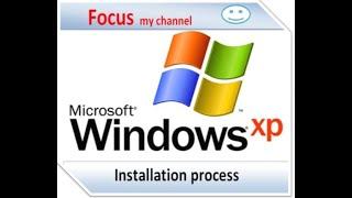 windows xp installation process