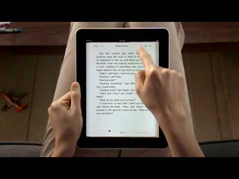 Apple iPad Guided Tour - iBooks