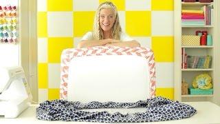 How to make a crib sheet + toddler sheet •two ways