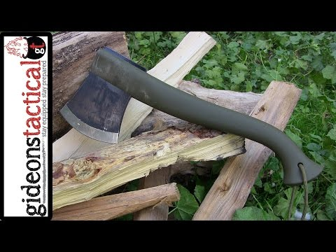 Mora Outdoor Camp Axe Review: 18oz. Of Power