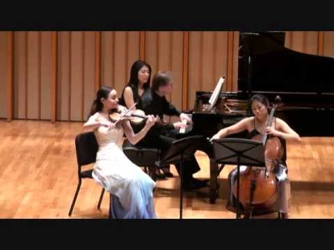 Haydn Piano Trio in C Major HOB XV: 27, I. Allegro
