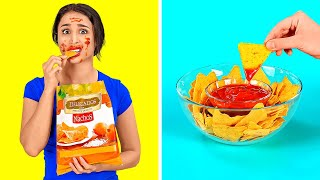 EASY AND FUN HOME PARTY HACKS || Crazy Party And Food Tricks by 123 GO!
