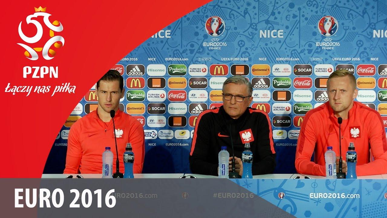 Konferencja prasowa reprezentacji Polski (Nicea 11.06.2016)