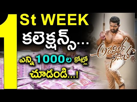 Jr NTR Create New Tollywood INDUSTRY RECORDS | Aravinda Sametha Movie Worldwide Box Office Records