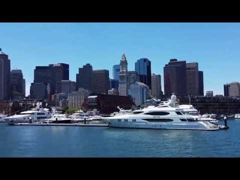 Boston Harbor Cruise #4 Skyline - July 3, 2016. Travels with Phil