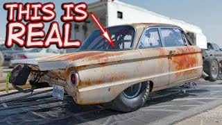 Rusty Ford Falcon With a WHOLE Lot of POWER!