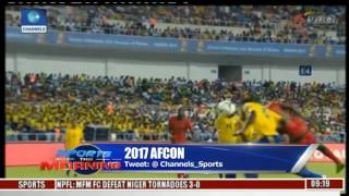 Sports This Morning: Discussing Games Played At The Ongoing 2017 AFCON