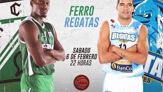 Liga Nacional de Bsquet: Ferro vs Regatas   LaLigaEnTyC